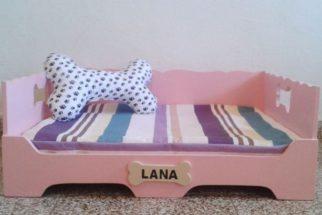 8 modelos de camas de madeira para cachorros
