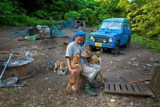 Japonês mora em zona radioativa para tratar de bichos abandonados