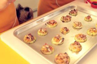 Receita: fazendo uma deliciosa mini pizza para cães