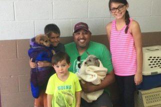 Após quase sete anos perdido, cão reencontra sua família