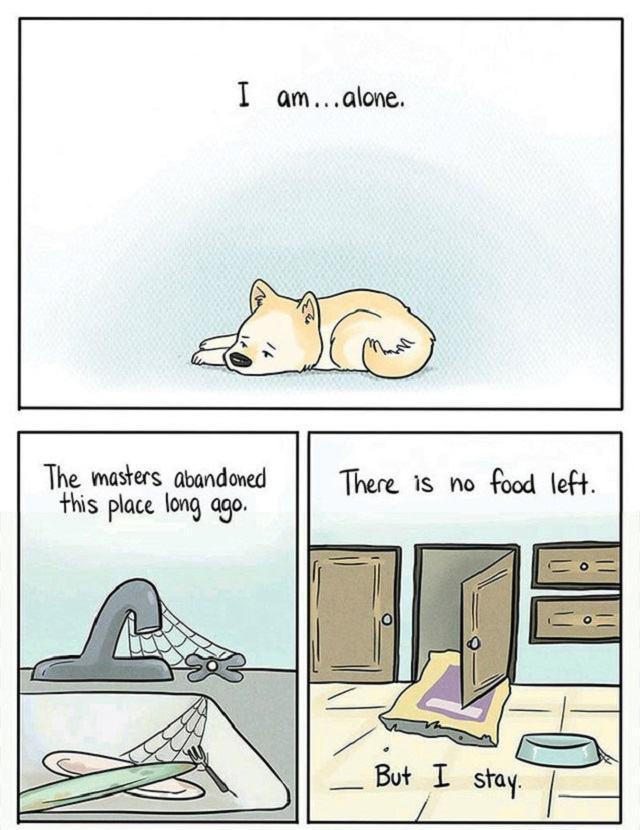 quadrinhos-cachorro-sozinho-em-casa