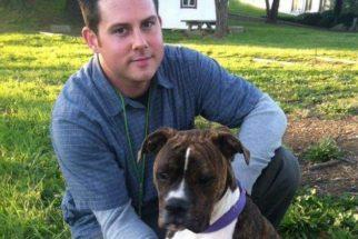 Cão visita hospital para se despedir de tutor em estado terminal