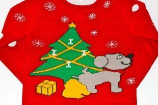 8 suéteres natalinos envolvendo cães que são hilários