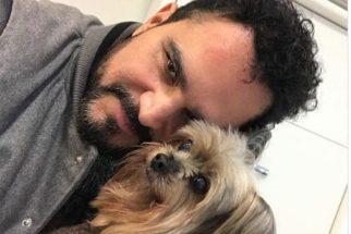 Cantor Luciano Camargo lamenta a morte de seu cachorro no Instagram