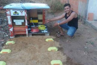 'Restaurante popular' para cães é instalado no Brasil