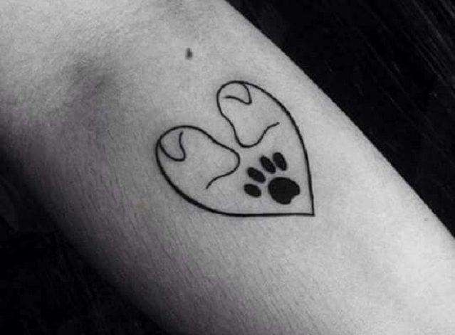 15 Tatuagens De Pata De Cachorro Para Você Se Inspirar